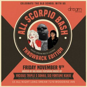 All Scorpio 90s Bash inside Dream